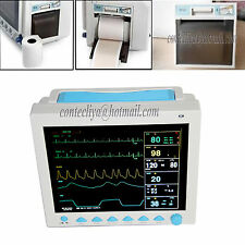 FDA CE ICU Patient Monitor Vital Sign ECG NIBP RESP TEMP SPO2 PR Printer CMS8000