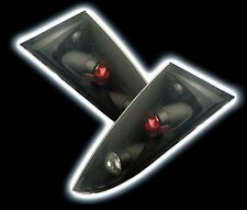QUALITY ULTRA LEXUS STYLE REAR BLACK TAIL LIGHTS FOR FORD FOCUS * NEW *