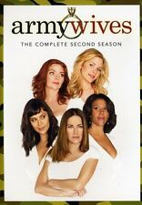 Army Wives: The Complete Season 2 [5 Discs] (2009, DVD NEUF) WS5 DISC SET