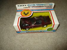 Diecast ERTL Turbo Formula Firebird 1:25 Scale Sealed In Box See My Store
