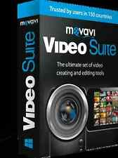 Movavi Video Suite, Create enhance movies, add effects music, upload to youtube
