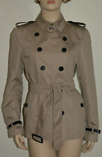 NWT BURBERRY LONDON $1395 WOMENS KINGSFORD TRENCH JACKET COAT US 8 EU 42