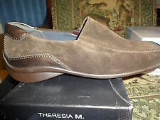 Theresia M, Dress Shoe, PETRA, MOCCA, Leather Women Size 9 Medium