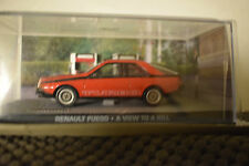JAMES BOND CARS COLLECTION 086  RENAULT FUEGO A VIEW TO A KILL