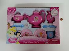 NEW 11Pc Disney Princess CHILDRENS TEA SET Plates Cups Teapot Spoons Sugar Bowl+