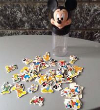 Walt Disney# Vintage 90S Mickey Mouse Money Box+ Stickers # Salvadanaio Adesivi