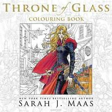 The Throne of Glass Colouring Book by Sarah J. Maas (Paperback, 2016)