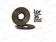"NEW RTM / RMG LPR-35 RECORDING TAPE 1/4"" X 3608' ON ECO-PAK NAB PANCAKE HUB"