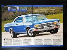 1966 Chevrolet Impala SS Super Sport 6-Page Article - Free Shipping