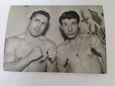 BOXE : PIGOU - FOLLEDO    - Photo de presse Originale Format 18x13cm