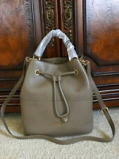 NWT Furla Brooklyn MEDIUM Dain Leather Drawstring Crossbody Bag $388