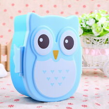 1050ML Owl Lunch Box Bento food-safe Plastic Food Picnic Container Portable SY