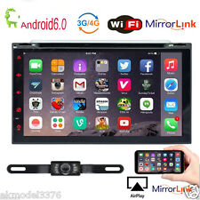 "Android 6.0 Marshmallow Car Stereo GPS 3G WIFI 7"" 2Din in dash Navigation DVD"