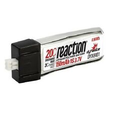 Dynamite Reaction 3.7v 150mAh 1S 20C Re-Chargeable LiPo Battery DYN9101