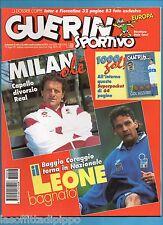GUERIN SPORTIVO-1997 n.18- CAPELLO-BAGGIO-DESCHAMPS -CALCIOMONDO