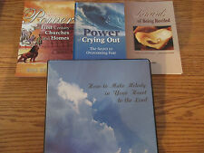 ATI books (Sevenfold Power/Power of Crying Out/How to Make Melody+others)