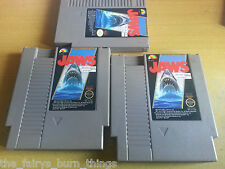 Jaws NES Nintendo  NTSC Cart Only Good Condition