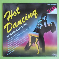 "2 LP HOT DANCING DINO MUSIC DLP 1901 28 SUPER DANCE HITS 12"" VINYL SCHALLPLATTEN"