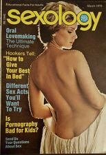 Vintage SEXOLOGY sex science Illustrated Magazine - March, 1976