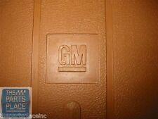 1978-88 General Motors GM G Body New Original Floor Mat Set - Tan