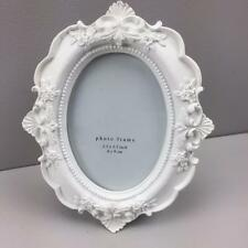 New White Cameo picture frame HOME DECOR PHOTO FRAMES GIFT VICTORIAN