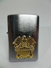 "Zippo - ""Navy officer or"" - plaque-NEUF & OVP - # 906"