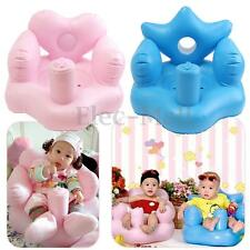 Inflatable Baby Mini Sofa Kids Learn Training Bath Dining Chair Safety Soft Seat
