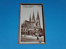 CHROMO PHOTO CHOCOLAT SUCHARD 1934 EUROPE SUEDE SVERIGE UPSAL UPPSALA