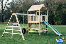 SALE!! NEW QUALITY CLIMBING FRAME 6ft BASE RSP £995 PICNIC TABLE Monkey Bars