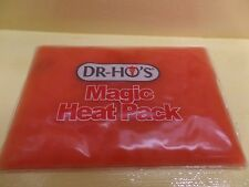 Dr. Ho's Magic Insant Heat Pack Hot Pad Reusable Works Great Free Shipping