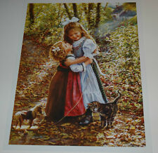 Sandra Kuck - MY BIG SISTER - 16x12 open edition OUT OF PRINT! Little sisters