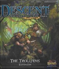 DESCENT JOURNEYS IN THE DARK SECOND EDITION --- THE TROLLFENS