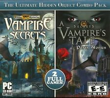 Vampire Secrets & A Vampire Tale PC Games Windows 10 8 7 Vista XP Computer