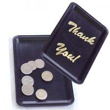 10x plastique noir vous remercier Bill plateau pointe présentateur garçon bar pub restauration