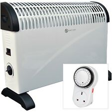 2kW Home & Office Convector Radiator Heater (Wall Mounted &Standing) +FREE Timer