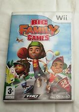 BIG FAMILY GAMES WII PAL