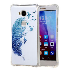 Soft TPU AF49 Silicone Bumper Cover ShockProof Case For Huawei Honor 5X/ X5/ GR5