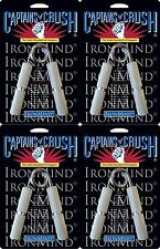 4 Ironmind Captains of Crush CoC grippers hand strength: Trainer + 1 + 1.5 + 2