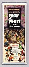 SNOW WHITE movie poster LARGE FRIDGE MAGNET - CLASSIC!