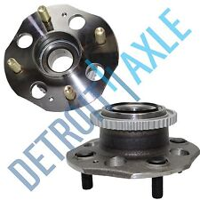 Pair:2 New REAR 1992-93 Honda Accord ABS Complete Wheel Hub and Bearing Assembly
