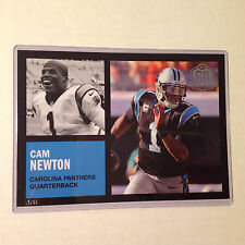 CAM NEWTON Panthers #ed/99 made 5x7 2015 Topps 60th Anniversary RETRO Throwback