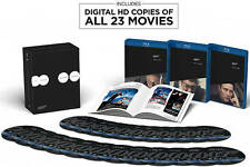The Ultimate James Bond Collection on BLU-RAY 23 Films Movies + DIGITAL HD!
