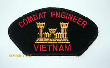Combat Engineer Vietnam WAR Hat Patch US ARMY VETERAN GIFT SAPPER PIN UP GIFT