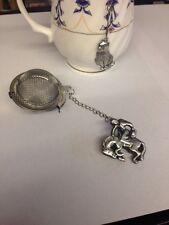 Redeo Cowboy 2inch Tea Ball Mesh Infuser Stainless Steel Sphere Strainer H1