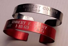 PAIR OF VIETNAM P.OW./M.I.A. BRACELETS - SKYRAIDER PILOT-LAOS - WELL RESEARCHED