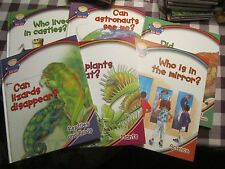 Lot of 6 Ask Me books reptiles plants astronauts dinosaurs - FOL