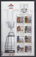 CANADA #2567 100th Grey Cup Game Souvenir Sheet MNH