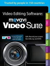 Latest : Movavi VideoSuite 16 Convert Videos , Edit MPEG AVI WMV DVD Burn