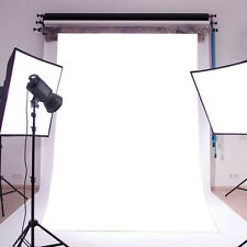 5X7FT Thin Vinyl Photography Backdrop Plain White Studio Prop Photo Background