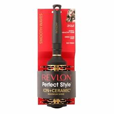 Revlon PERFECT STYLE MAXIMUM SHINE PORCUPINE BRUSH • for ALL Hair • SMOOTH WAVES